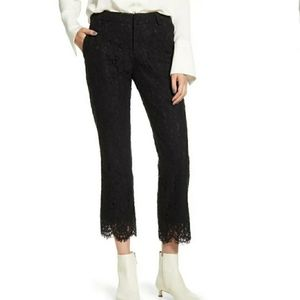 Zadig & Voltaire Posh Lace Pants | Black Lace